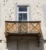 Μπαλκόνι σε ένα παλαιό κτήριο στην Αυστρία Στοκ φωτογραφία με δικαίωμα ελεύθερης χρήσης