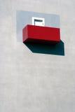 μπαλκόνι υπαίθριο Παρίσι α& Στοκ Εικόνες