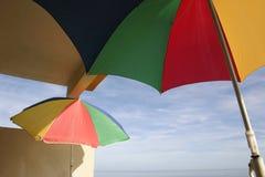 μπαλκόνι parasols Στοκ εικόνες με δικαίωμα ελεύθερης χρήσης