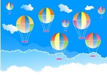 μπαλόνια αέρα καυτά Ελεύθερη απεικόνιση δικαιώματος