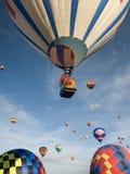 μπαλόνια αέρα καυτά Στοκ φωτογραφίες με δικαίωμα ελεύθερης χρήσης