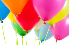 μπαλόνια αέρα πολύχρωμα Στοκ Φωτογραφίες
