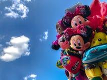 Μπαλόνια, δημοφιλής κινηματογράφηση σε πρώτο πλάνο κινούμενων σχεδίων στην Κρακοβία Στοκ εικόνες με δικαίωμα ελεύθερης χρήσης