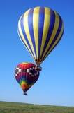 μπαλόνια δύο Στοκ φωτογραφία με δικαίωμα ελεύθερης χρήσης