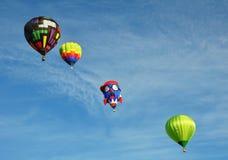 Μπαλόνια ζεστού αέρα Στοκ Φωτογραφίες