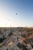 Μπαλόνια ζεστού αέρα Στοκ εικόνες με δικαίωμα ελεύθερης χρήσης