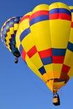 μπαλόνια καυτά δύο αέρα Στοκ Φωτογραφίες