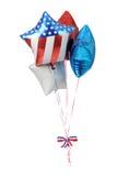 μπαλόνια πατριωτικές ΗΠΑ Στοκ Φωτογραφίες