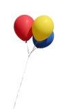 μπαλόνια που απομονώνονται στοκ φωτογραφία