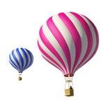 μπαλόνια που απομονώνονται Στοκ φωτογραφία με δικαίωμα ελεύθερης χρήσης