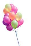 μπαλόνια που απομονώνοντ&alph Στοκ φωτογραφίες με δικαίωμα ελεύθερης χρήσης