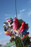 Μπαλόνια που πωλούνται στην οδό στοκ εικόνα