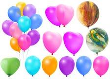μπαλόνια που χρωματίζονται Στοκ Φωτογραφία