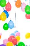 μπαλόνια που χρωματίζοντα Στοκ εικόνα με δικαίωμα ελεύθερης χρήσης