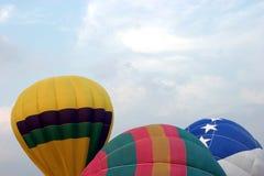 μπαλόνια τρία στοκ εικόνες