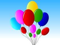 μπαλόνια Στοκ εικόνες με δικαίωμα ελεύθερης χρήσης