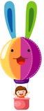 μπαλόνι αέρα καυτό ελεύθερη απεικόνιση δικαιώματος