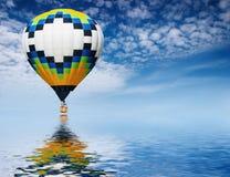 μπαλόνι αέρα καυτό Στοκ Φωτογραφίες