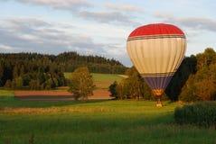 μπαλόνι αέρα καυτό Στοκ Εικόνες