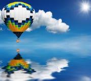 μπαλόνι αέρα καυτό Στοκ εικόνες με δικαίωμα ελεύθερης χρήσης