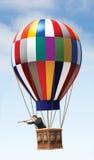 μπαλόνι αέρα καυτό Στοκ εικόνα με δικαίωμα ελεύθερης χρήσης
