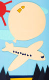 μπαλόνι αεροσκαφών στοκ φωτογραφία με δικαίωμα ελεύθερης χρήσης