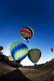 Μπαλόνι ζεστού αέρα. Στοκ εικόνες με δικαίωμα ελεύθερης χρήσης