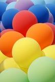 μπαλόνι ζωηρόχρωμο στοκ εικόνα