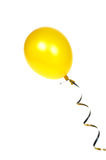 μπαλόνι κίτρινο Στοκ φωτογραφίες με δικαίωμα ελεύθερης χρήσης
