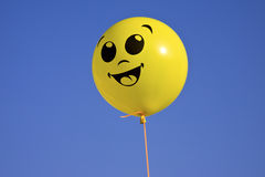 μπαλόνι κίτρινο Στοκ Φωτογραφία