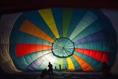 Μπαλόνι μέσα Στοκ Φωτογραφία