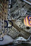 μπαλόνι που κοιτάζει κάτω Στοκ φωτογραφία με δικαίωμα ελεύθερης χρήσης