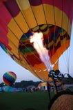 μπαλόνι που φυσά - επάνω Στοκ Φωτογραφία