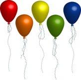 μπαλόνι διανυσματική απεικόνιση