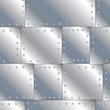 μπαλώματα μετάλλων Στοκ Εικόνες