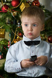 μπαμπάς κλήσης απαραίτητο&sigm Στοκ φωτογραφία με δικαίωμα ελεύθερης χρήσης