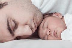 μπαμπάς μωρών Στοκ Φωτογραφία