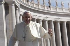 Μπαμπάς Francesco - Bergoglio Στοκ Εικόνα