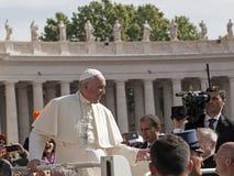 Μπαμπάς Francesco - Bergoglio Στοκ Φωτογραφία