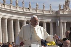 Μπαμπάς Francesco - Bergoglio Στοκ Εικόνες