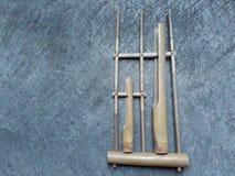 Μπαμπού Angklung στοκ εικόνα με δικαίωμα ελεύθερης χρήσης