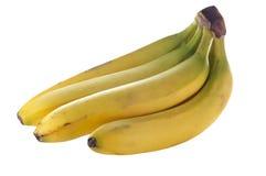 μπανάνα που απομονώνεται Στοκ εικόνα με δικαίωμα ελεύθερης χρήσης