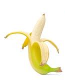 μπανάνα που ξεφλουδίζεται Στοκ φωτογραφία με δικαίωμα ελεύθερης χρήσης