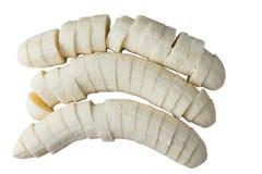 μπανάνα που τεμαχίζεται Στοκ φωτογραφία με δικαίωμα ελεύθερης χρήσης
