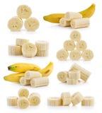 Μπανάνα φετών Στοκ Φωτογραφίες