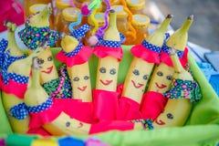 Μπανάνες διασκέδασης διακοσμήσεων γιορτής γενεθλίων Στοκ Εικόνες