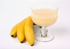 μπανάνες μπανανών saft Στοκ Φωτογραφίες