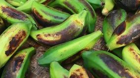 Μπανάνες περικοπών και ξηρός φιλμ μικρού μήκους