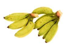 Μπανάνες που απομονώνονται στο λευκό στοκ εικόνα