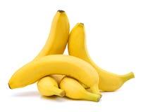 Μπανάνες που απομονώνονται Στοκ Φωτογραφίες